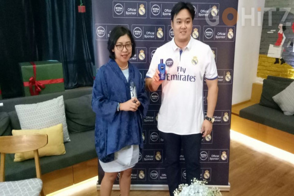 Nivea Men Indonesia Jalin Kemitraan dengan Real Madrid