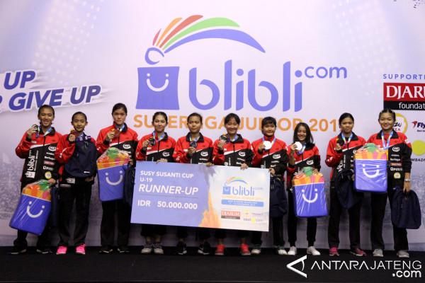 Putri Jaya Raya U-19 Juarai Superliga