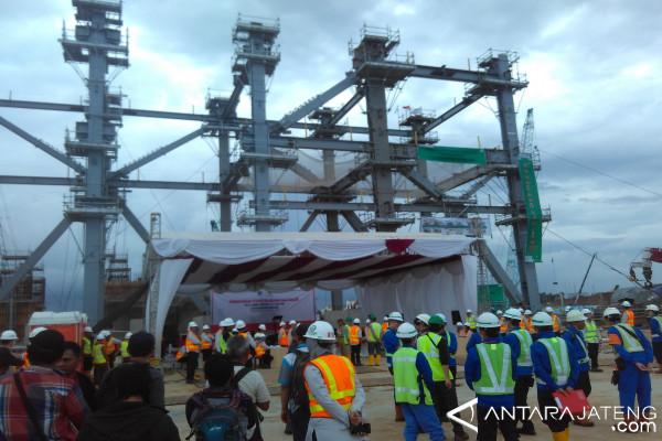 PLTU Batang Pasang Struktur Baja Broiler