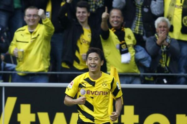 Bekuk Mainz 2-0, Dortmund Raih Kemenangan Pertama