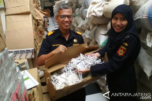 323.700 batang rokok ilegal disita Bea Cukai