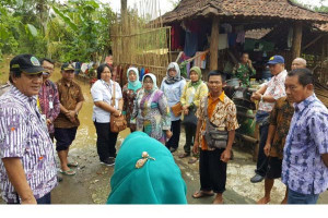 BPJS Ketenaagakerjaan Bantu Korban Bencana Gunung Kidul