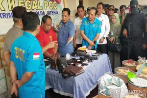 13 Juta Pil PCC Diamankan di Semarang