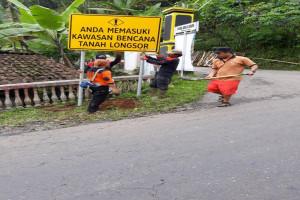 BPBD: 474 Rambu Peringatan Bencana Telah Terpasang