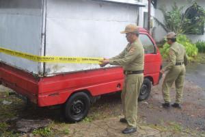 Tim Gabungan Amankan Tiga Mobil Pedagang Buah