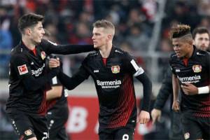 Leverkusen Perpanjang Rekor 10 Laga Tak Terkalahkan