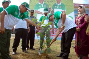 Pemkab Batang dan Polres Siap Tanam 70 Ribu Pohon Penghijauan