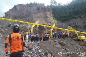 BPBD Masih Siaga di Lokasi Longsor Merapi