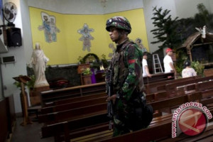 36 gereja di Kudus mendapat pengamanan polisi