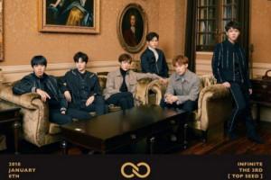INFINITE luncurkan album ketiga Januari 2018