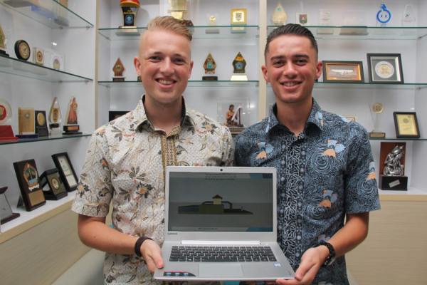 2 mahasiswa Belanda teliti banjir di Solo
