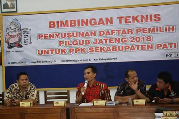 Pemutakhiran data pemilih, KPU Pati libatkan 2.337 petugas