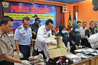 Penyelundupan 1,942 kg sabu-sabu di Adi Soemarmo digagalkan
