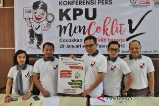 Jelang pilgub, KPU Surakarta coklit 413.736 DP4