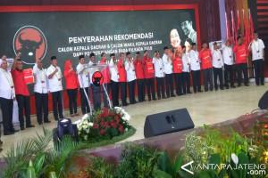 Tujuh pilkada Jateng tanpa koalisi PDIP, Gerindra, PKS