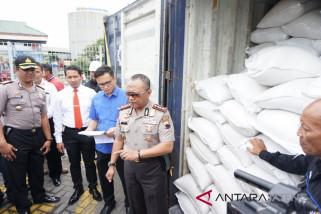 Penyelundupan 48 ton beras ke Kalimantan digagalkan
