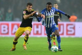 Hertha tahan imbang Dortmund 1-1