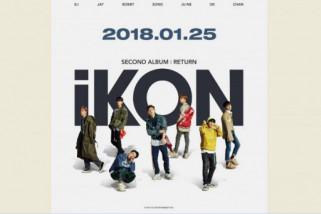 Boy group iKON luncurkan album kedua