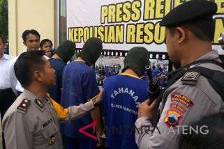 Kawanan pencuri spesialis sekolah di Banyumas, ditangkap