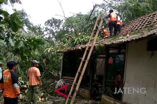 Diterjang angin langkisau, 156 rumah di Banyumas rusak (VIDEO)