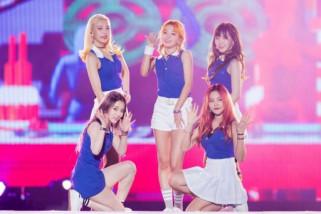 Red Velvet duduki posisi puncak lima tangga musik Korea