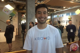 Vidi Aldiano luncurkan startup KROWD