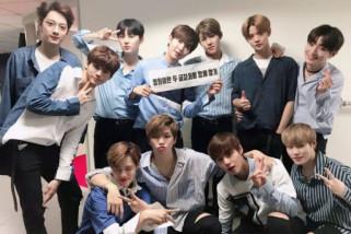 Group Wanna One jadi musisi pendatang baru terbaik