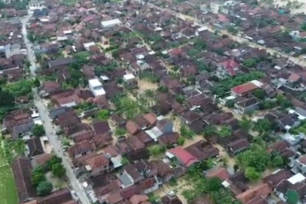 Tujuh kecamatan di Kudus tergenang banjir