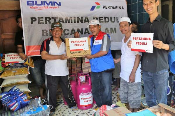 Pertamina bantu korban banjir Mangkang