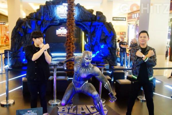 Duo Youtubers mendapat kesempatan hadiri Asia film Black Panther