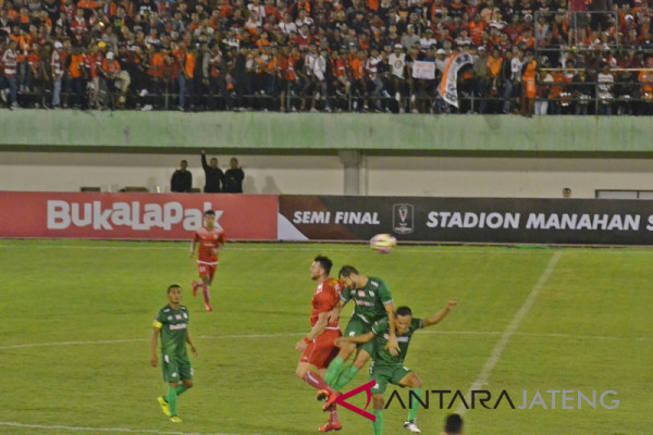 Persija berpeluang melaju ke final Piala Presiden