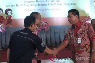 Bank Magelang salurkan kredit pemasangan air bersih