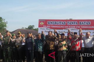Apel sinergitas TNI-Polri, wujud kekompakan jelang Pilkada Temanggung