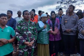 Pencarian tujuh korban longsor Brebes dihentikan