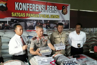 Polda bongkar gudang pengoplos beras di Cilacap (VIDEO)