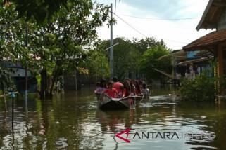 Ribuan rumah di Demak terendam banjir