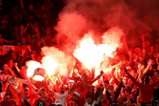 Bentrok , laga Bilbao lawan Spartak di Liga Europa seorang Polisi meninggal