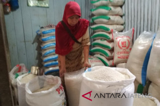 Penurunan harga beras pengaruhi permintaan beras bulog