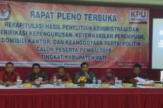 PAN dan PKPI tidak lolos verifikasi faktual di Pati