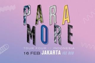 Vokalis Paramore sakit konser di Indonesia ditunda