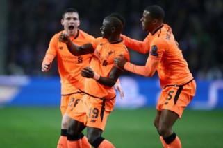 Liverpool pesta gol di kandang Porto