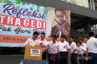 Siswa SMP Purwokerto gelar refleksi Pak Guru Budi (VIDEO)