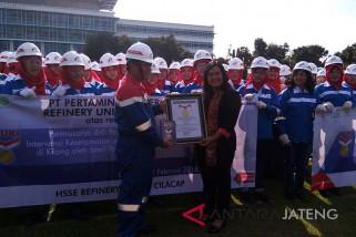 Istri pekerja pertamina ciptakan rekor Muri (VIDEO)