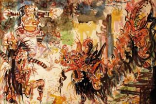 13 lukisan Nyoman Gunarsa ditetapkan sebagai cagar budaya