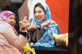 Foto Suzy berkerudung jadi viral