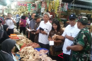 Tak ditemukan pangan berbahaya di 5 pasar Surakarta