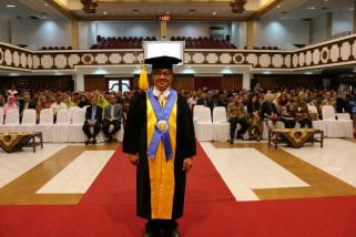 Usai dikukuhkan sebagai guru besar UNS, Wiryanto meninggal