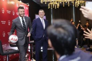 Sripun tak sangka bisa bertemu David Beckham