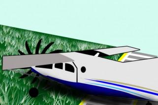KNKT selidiki penyebab kecelakaan pesawat di Cilacap
