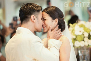 5 Foto romantis pernikahan Chicco Jerikho dan Putri Marino